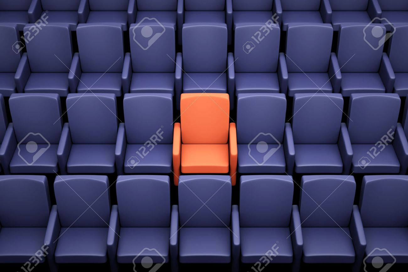 Stock photo dramatic red old fashioned elegant theater stage stock - Stage Seating A Movie Theater Seats One Special Seat