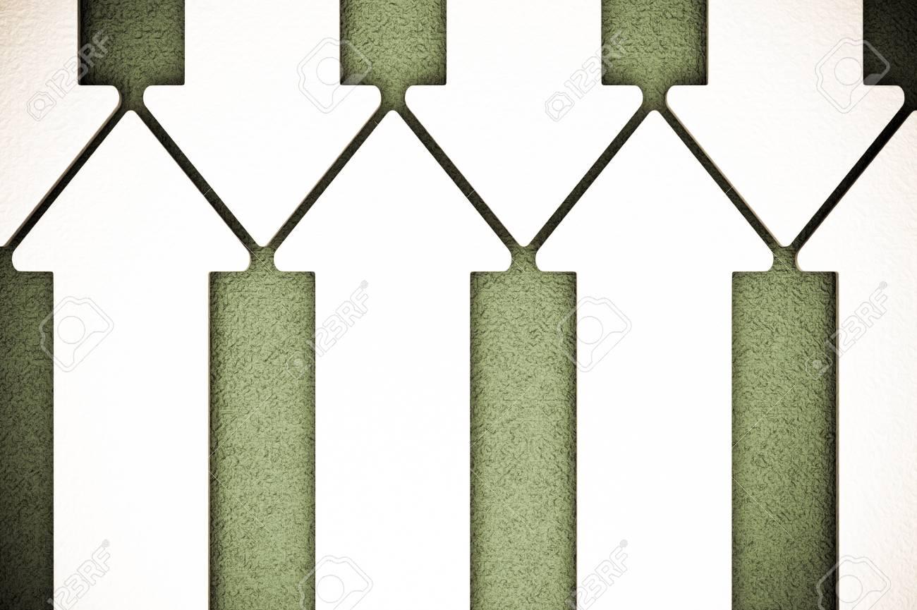 a creative arrows background Stock Photo - 14979416