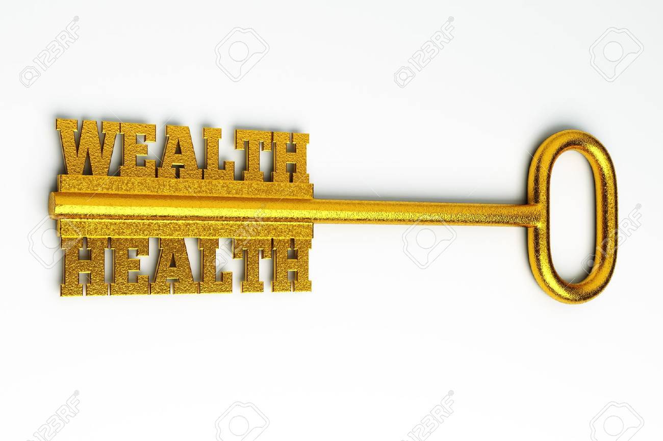 a health concept on white Stock Photo - 15708481