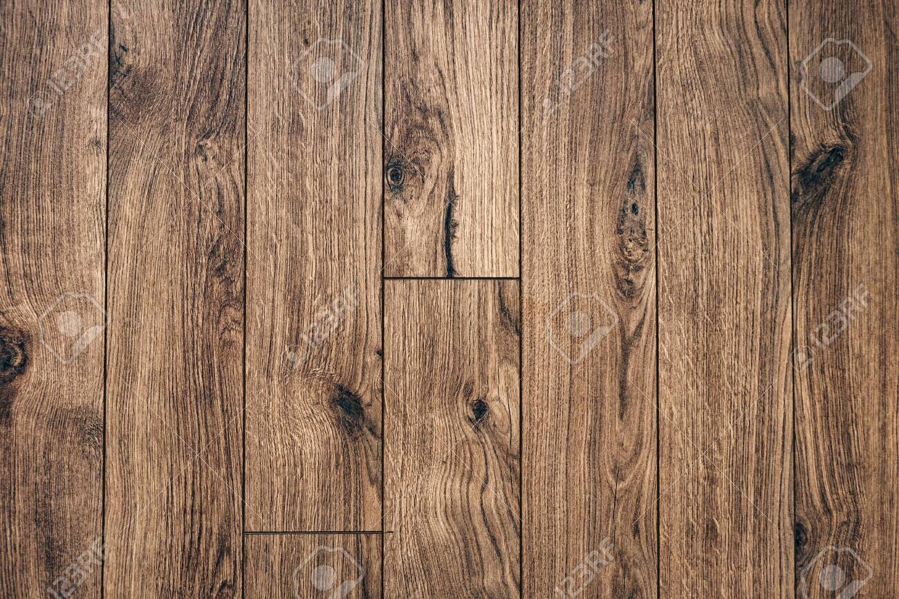 Brown wooden board background texture walnut color - 149323314