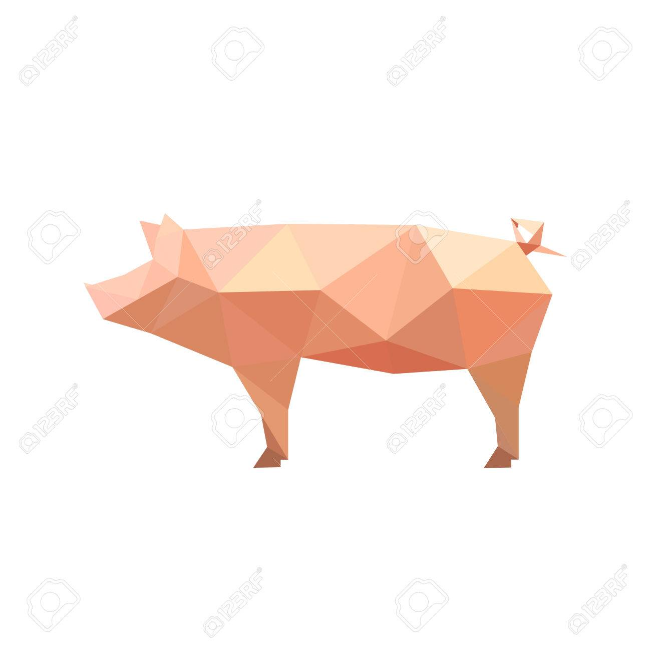 151 origami pig cliparts stock vector and royalty free origami illustration of origami pig isolated on white background illustration pooptronica