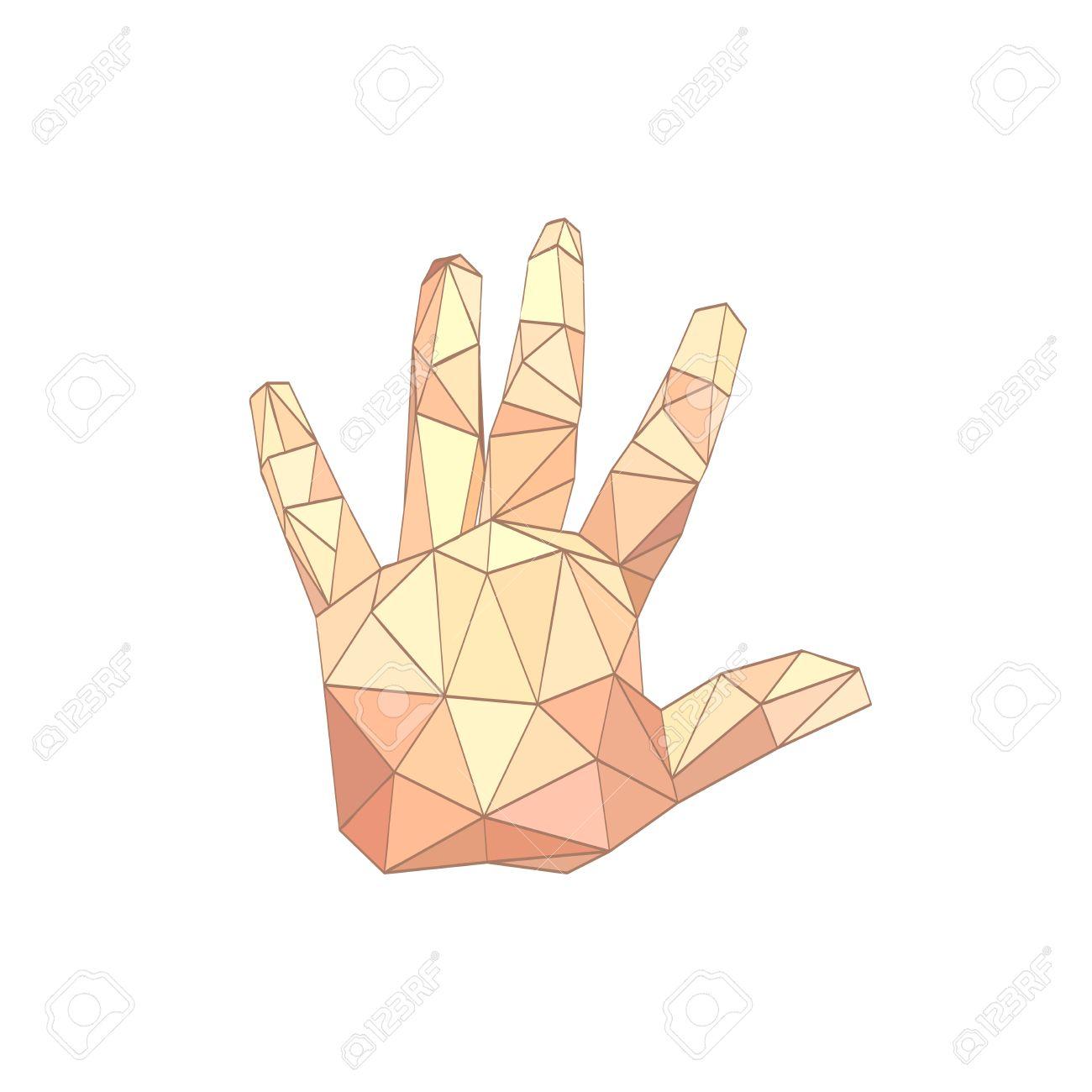 Origami Skeleton Hand : 7 Steps - Instructables | 1300x1300