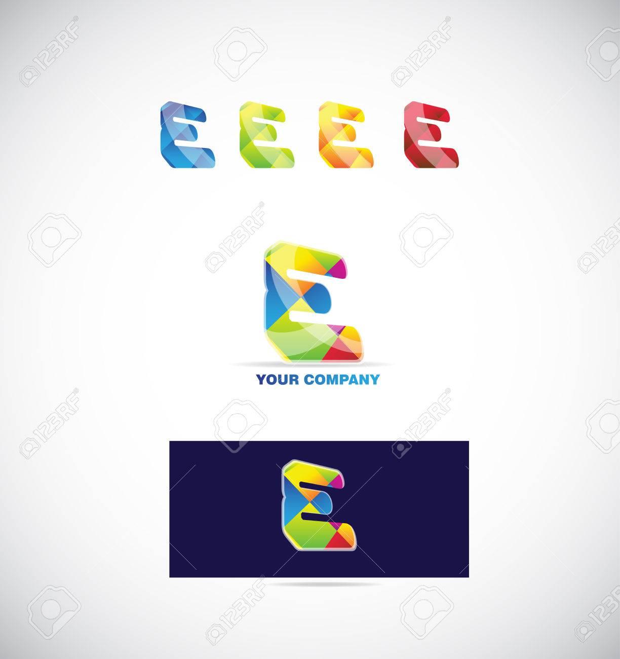 Company logo icon element template alphabet letter e colors royalty company logo icon element template alphabet letter e colors stock vector 53335825 spiritdancerdesigns Choice Image