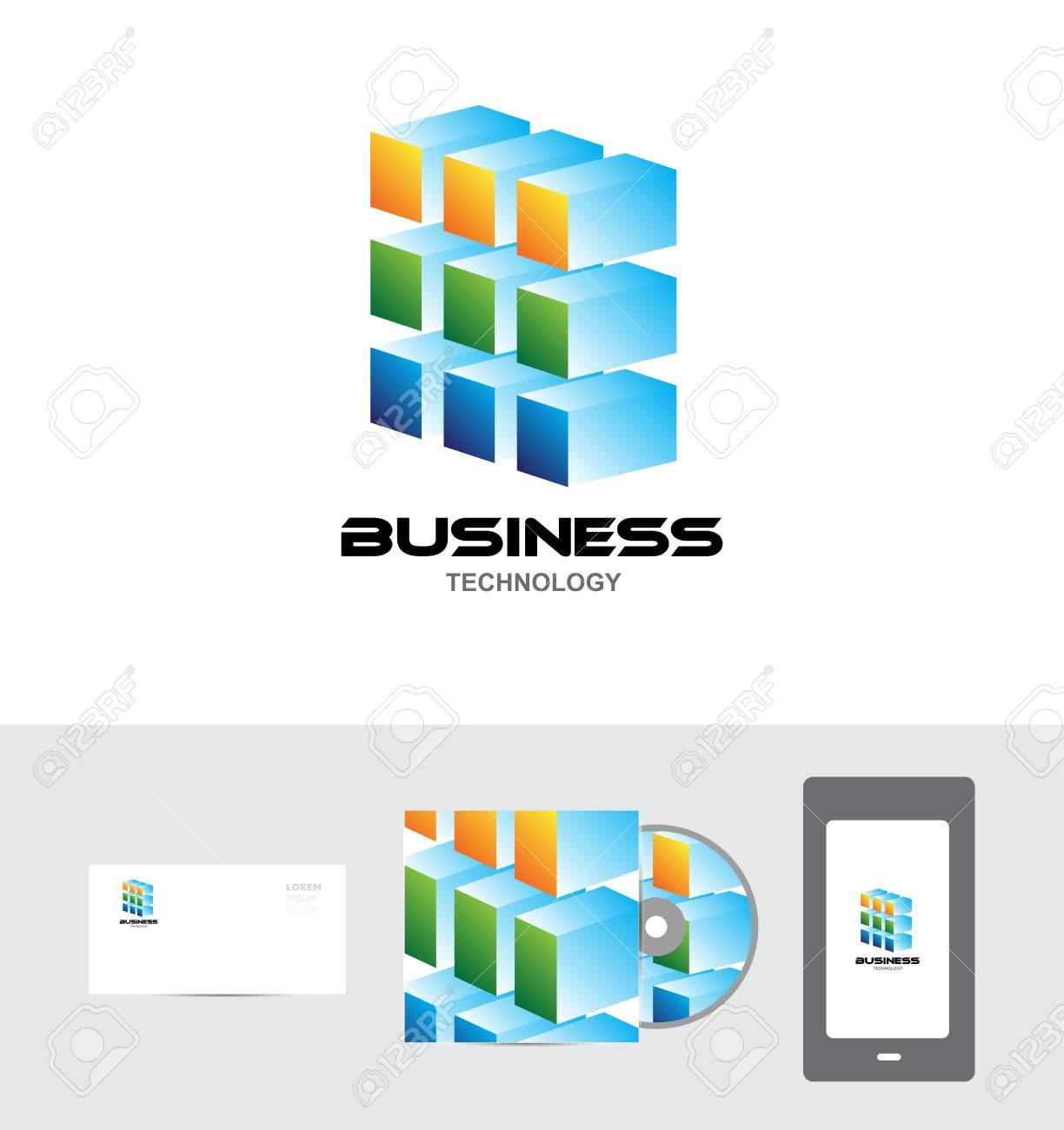 Vector Firma CD-Cover Telefontablette Logo Icon Element Vorlage ...