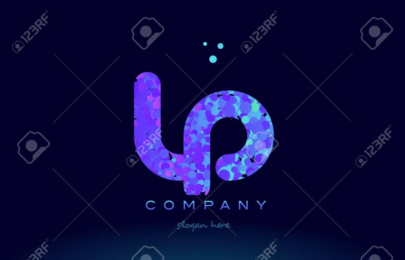 Lp logo stock photos pictures royalty free lp logo images and lp alphabet pink blue bubble circle dots logo icon design template illustration biocorpaavc