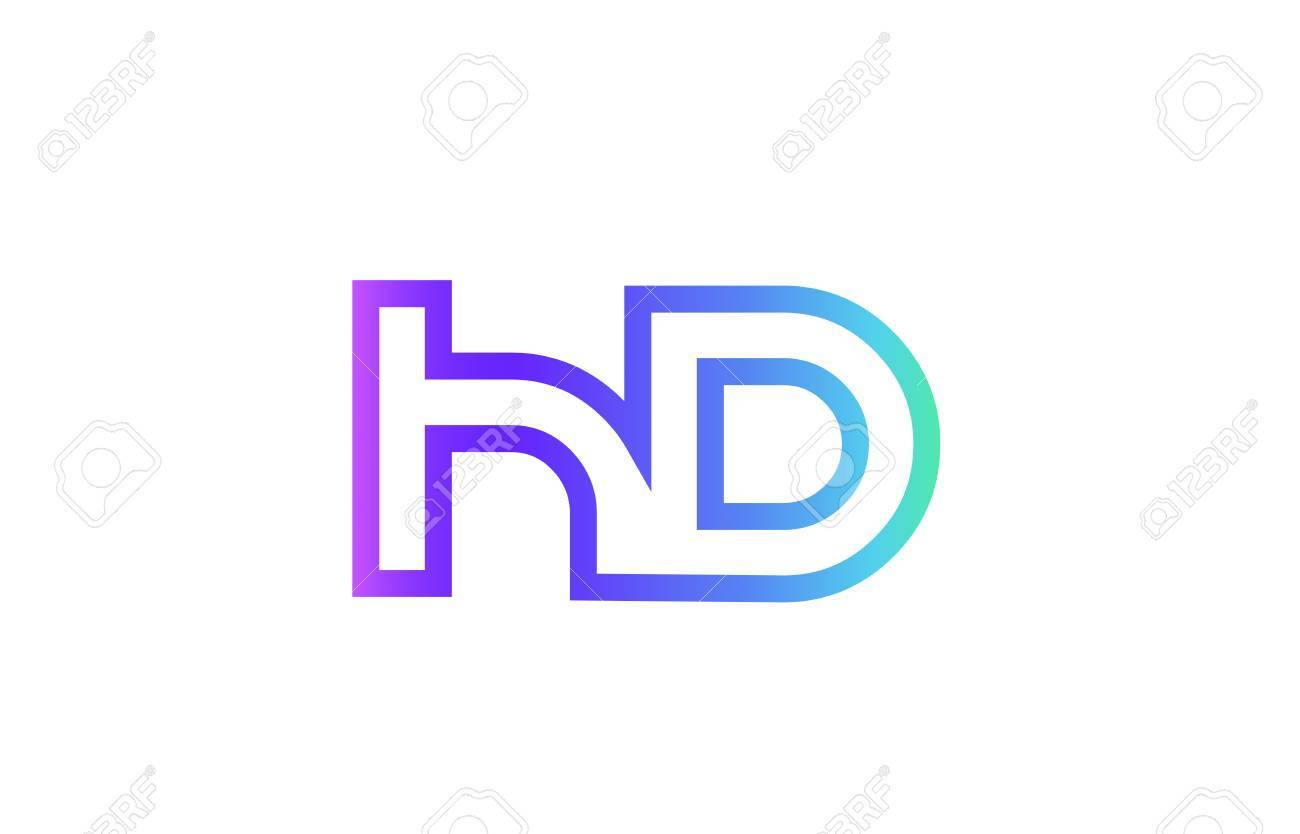 Hd h d letter logo combination alphabet royalty free cliparts hd h d letter logo combination alphabet stock vector 84889028 thecheapjerseys Images
