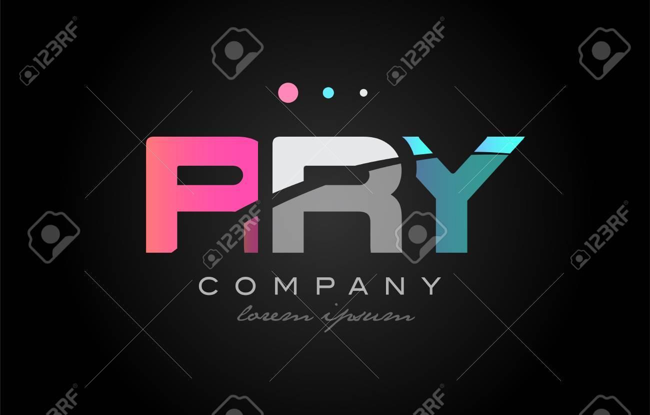RRY R R Y Three 3 Letter Logo bination Alphabet Royalty Free