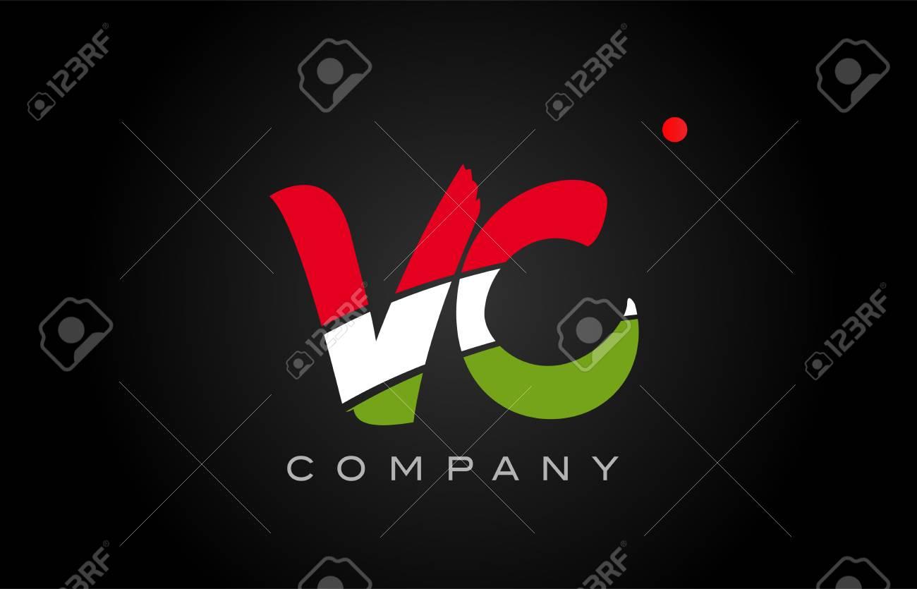 VC V C Letter Logo Combination Alphabet Vector Creative Company ...