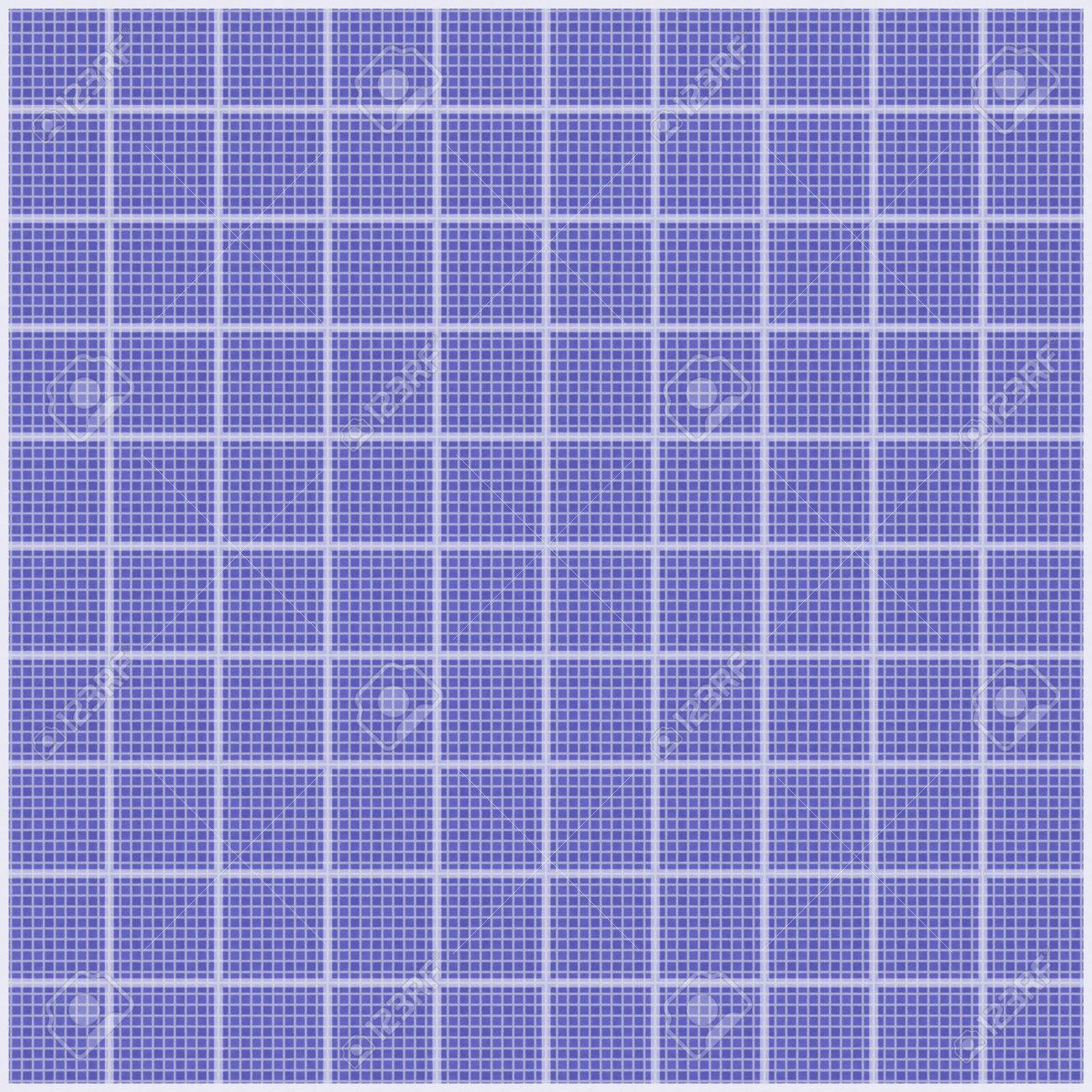 Realistic tileable texture of white grid on blueprint paper stock realistic tileable texture of white grid on blueprint paper stock photo 25473814 malvernweather Choice Image