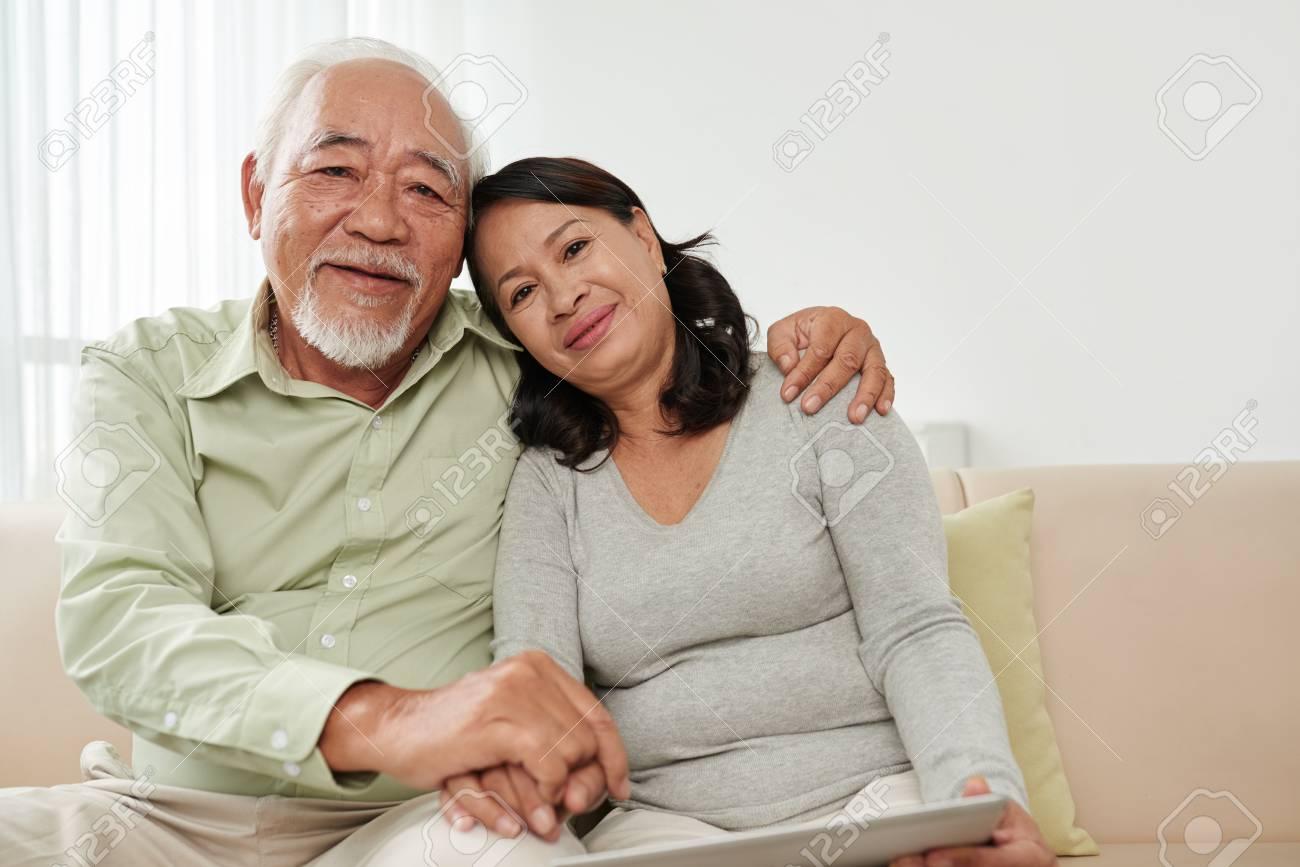 Mature asian couples