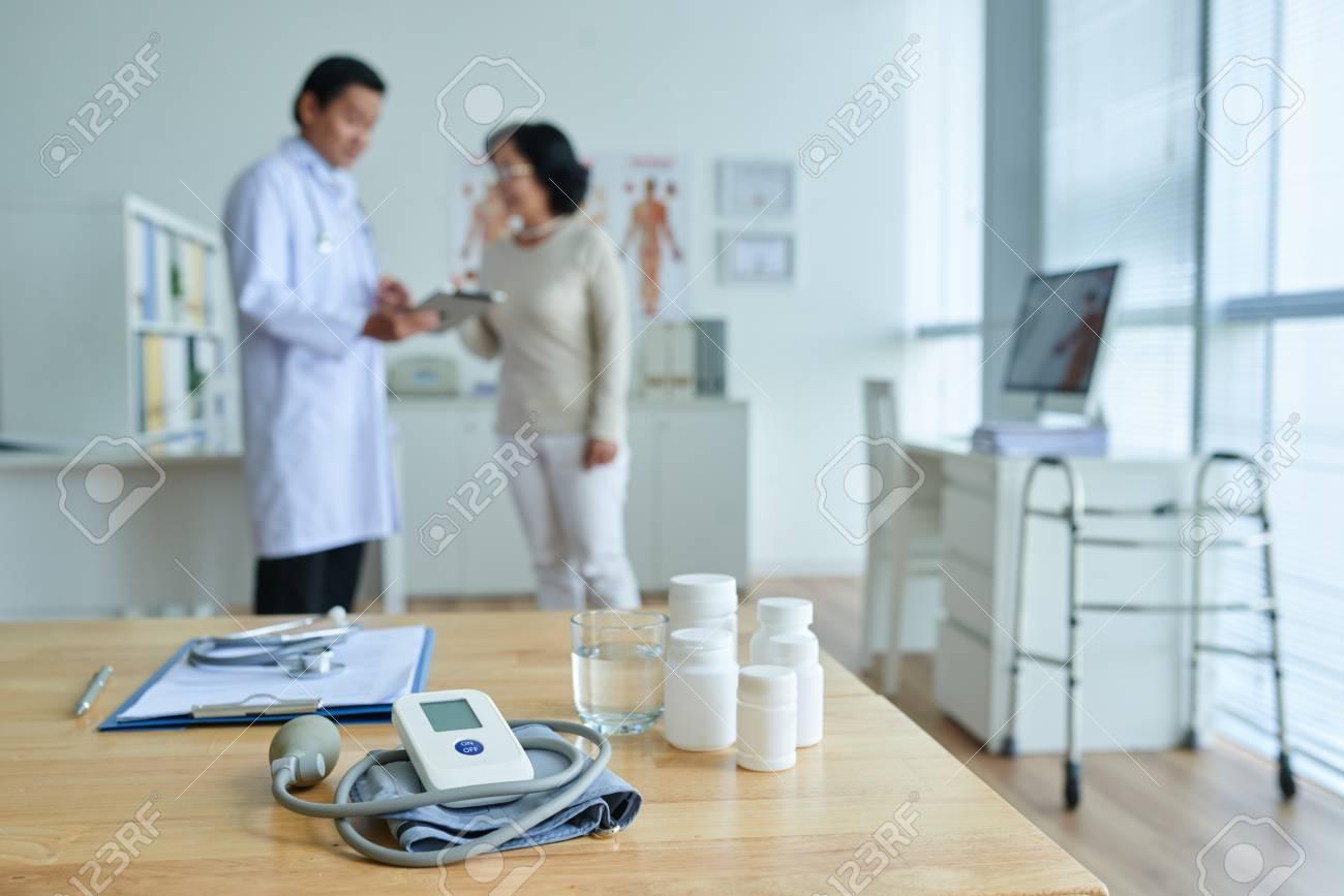 Pie de presión arterial