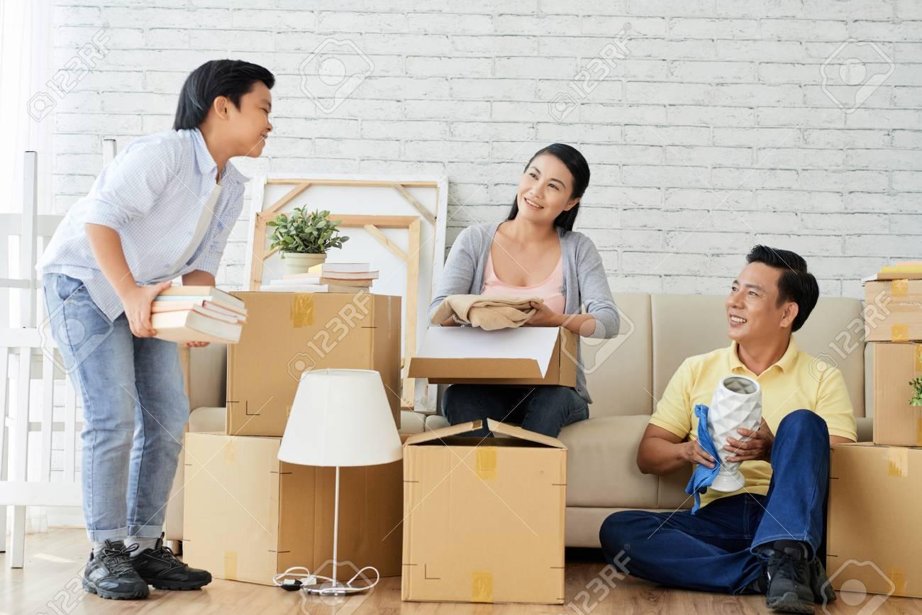 Enjoying Process of Unpacking Stuff - 102502741