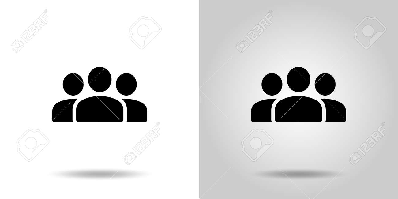 Group people vector icon set - 170366977