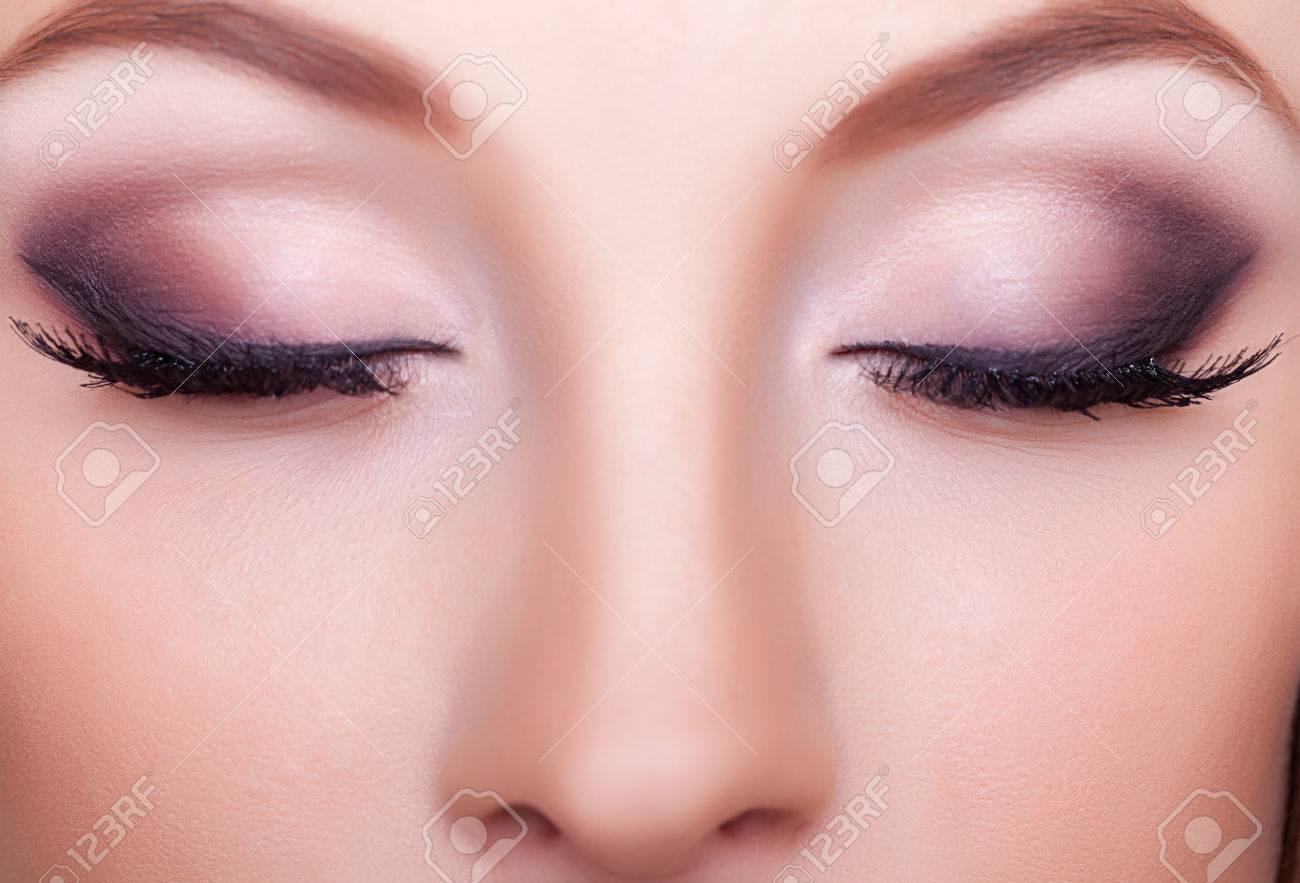 close up portrait professional make up studio shooting and lighting