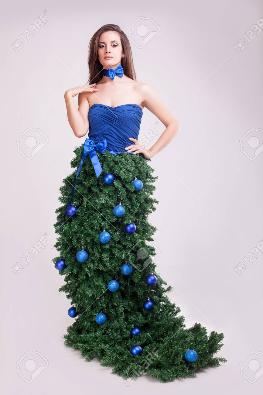 Kleid Weihnachten.Stock Photo