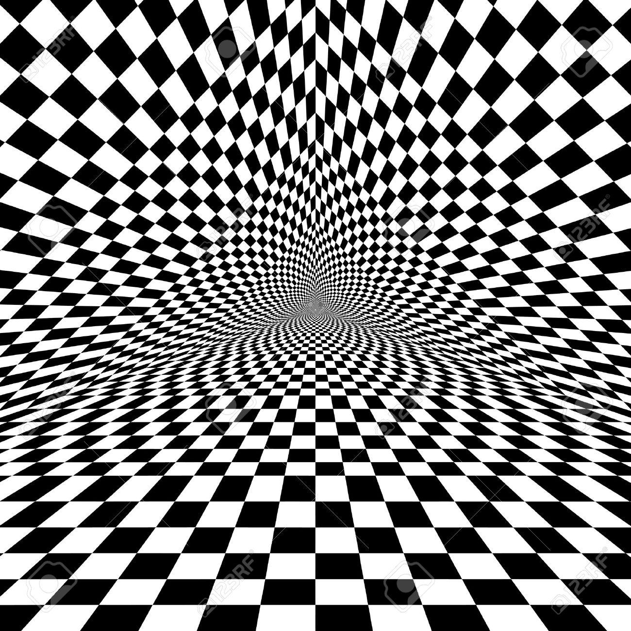 Il mondo invisibile e le sue immagini - Pagina 3 35236547-black-and-white-optical-illusion-triangle-vector-pattern