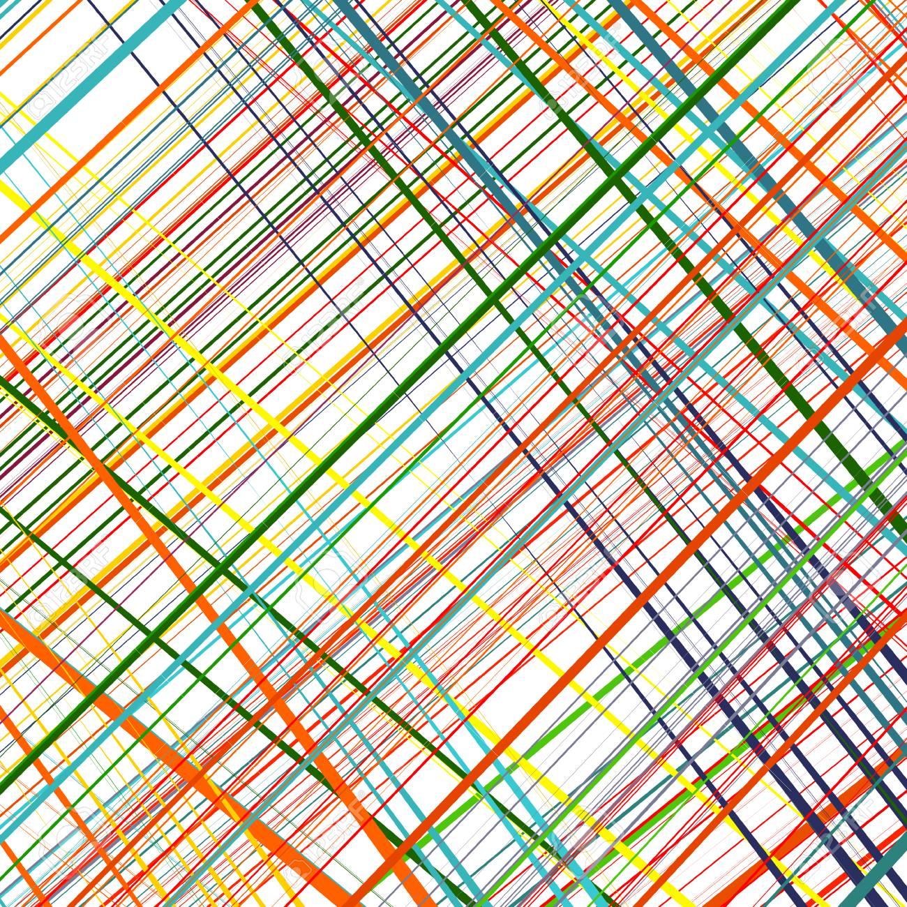 Vector Line Art Colour