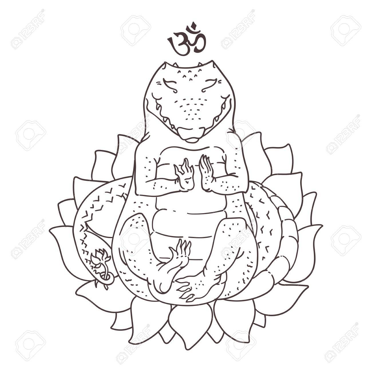 cute alligator coloring pages virtren com