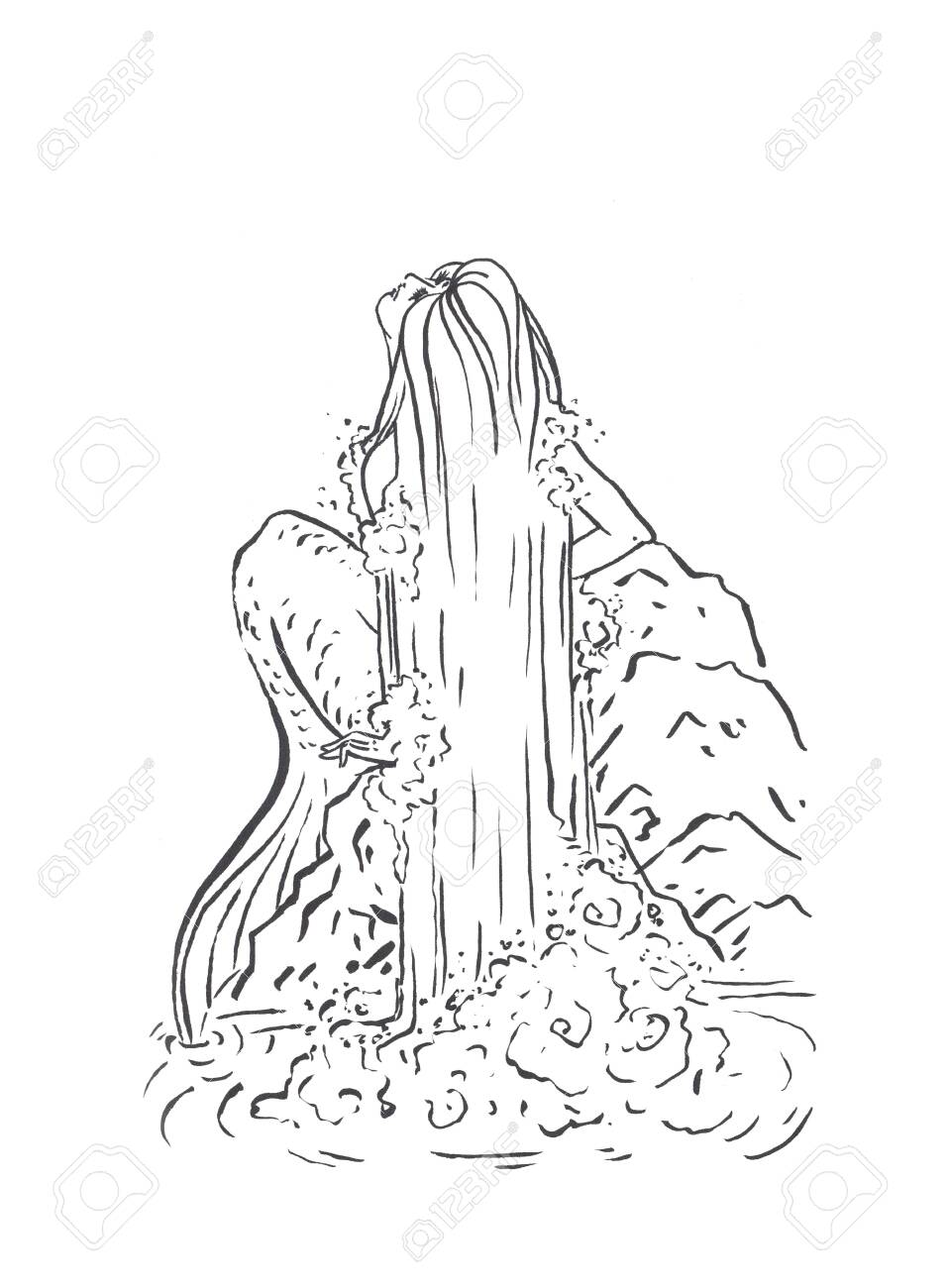11 Pics Of Princess Coloring Pages Mermaids Fairies - Fairy ... | 1300x958
