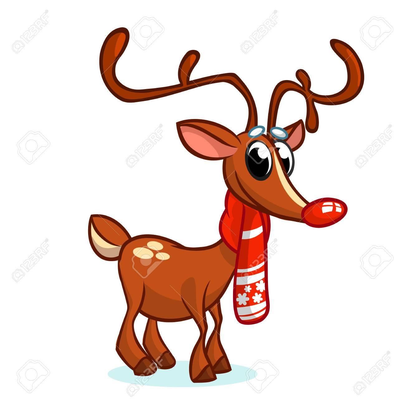 rennes pere noel Noël, Nez, Nez, Rennes, Père Noël, Vecteur, Illustration, Neigeux  rennes pere noel