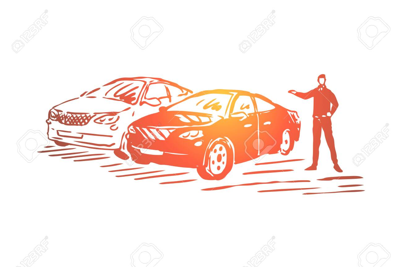 Automobile Sale Business Luxury Vehicle Showroom Dealership Royalty Free Cliparts Vectors And Stock Illustration Image 123442215