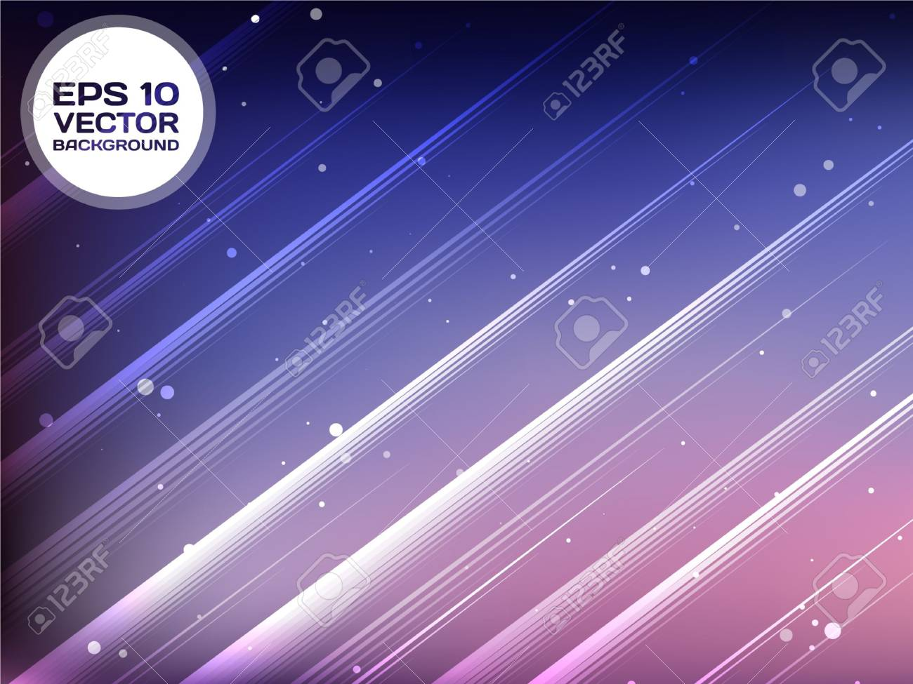 Vector Abstract Background With Rays Stock Vector - 16855820