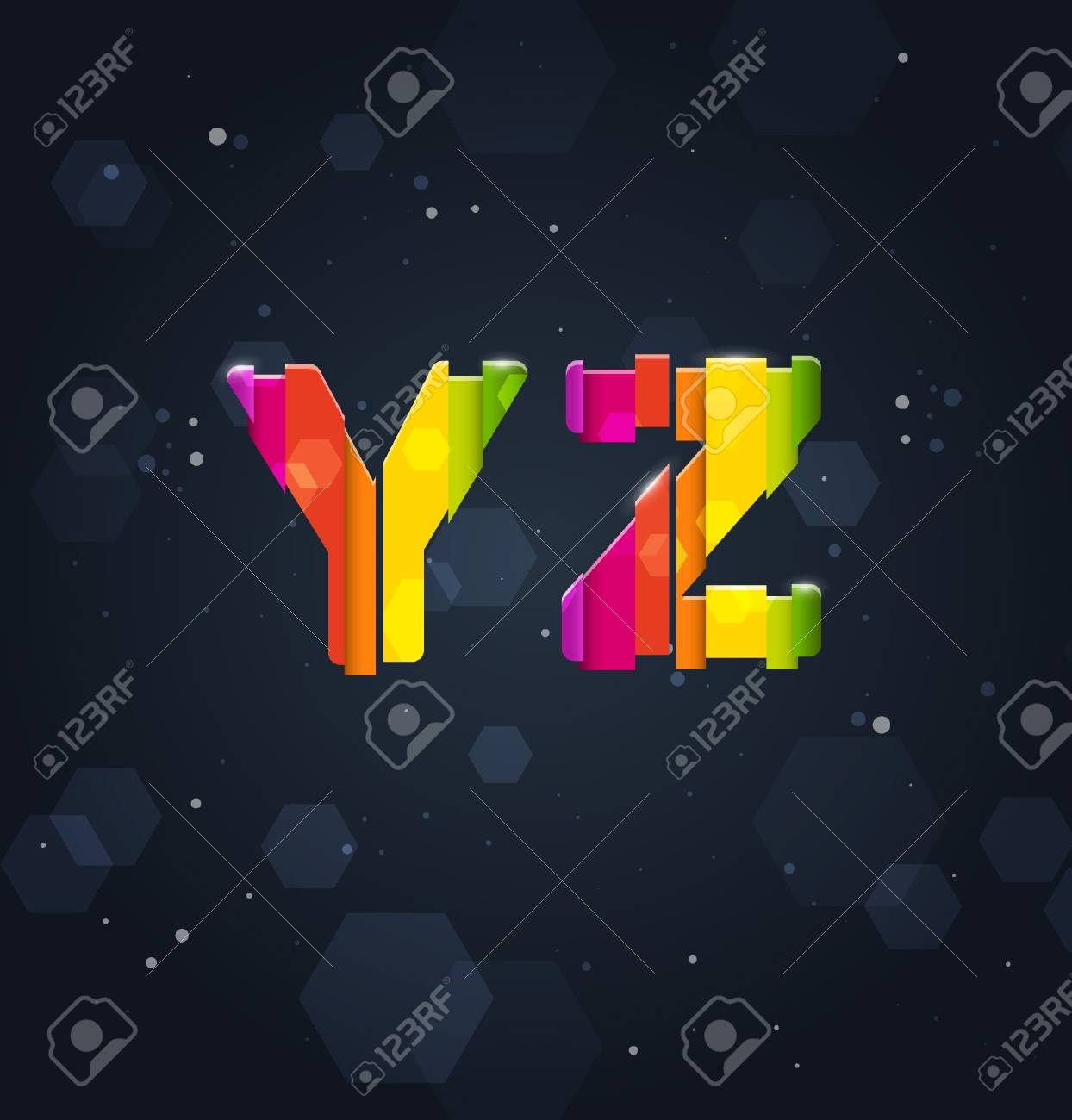 Y and Z Stock Vector - 16872966