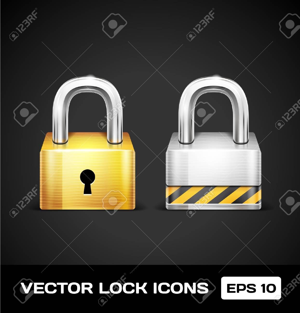 Lock Icons Stock Vector - 17315520