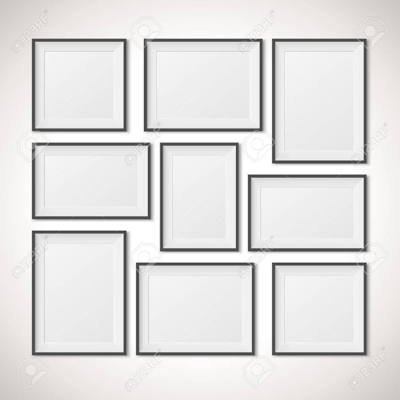 Multiple Frames Vector Illustration Royalty Free Cliparts, Vectors ...
