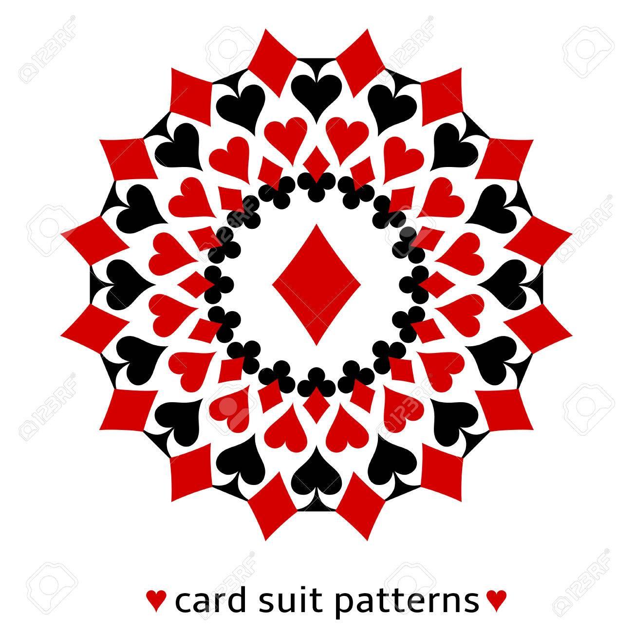 Fancy diamond card suit Fancy Merry Christmas Clip Art Words