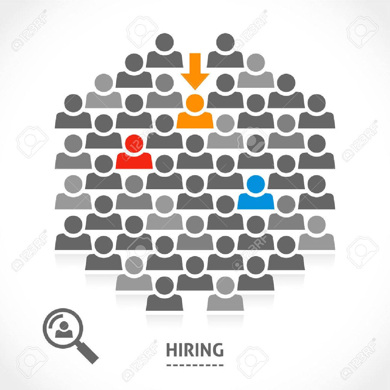 concept of hiring new vacancy it is very hard to a chosen it is very hard to a chosen one good