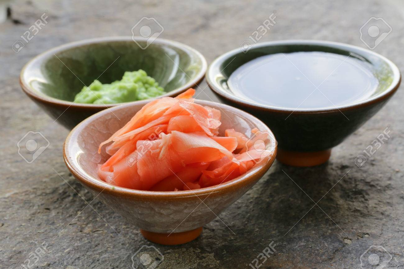 Wasabi Ginger Sauce Ginger And Soy Sauce