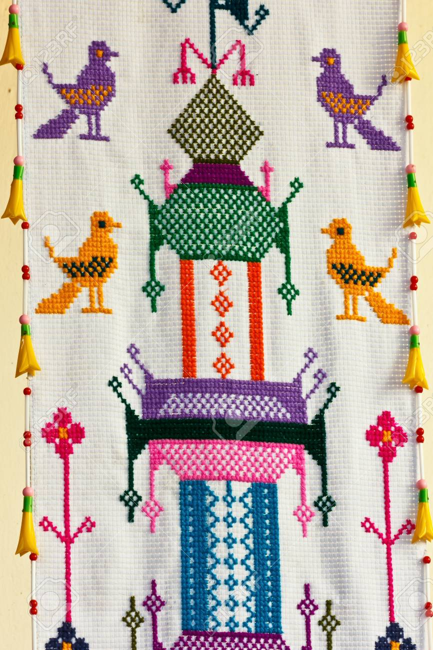 Sewing Fabric Animals On The Occasion Of The High Holy Days Stock Photo Picture And Royalty Free Image Image 17466899
