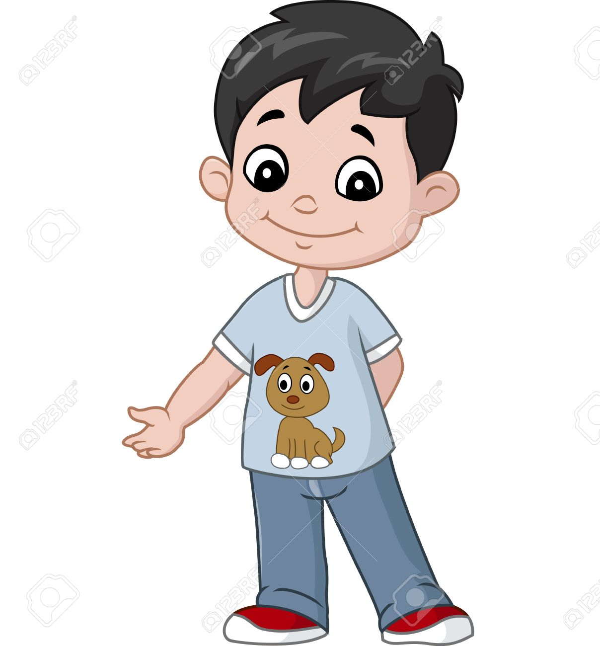 happy little boy cartoon royalty free cliparts vectors and stock rh 123rf com little boy cartoon picture little boy cartoon videos