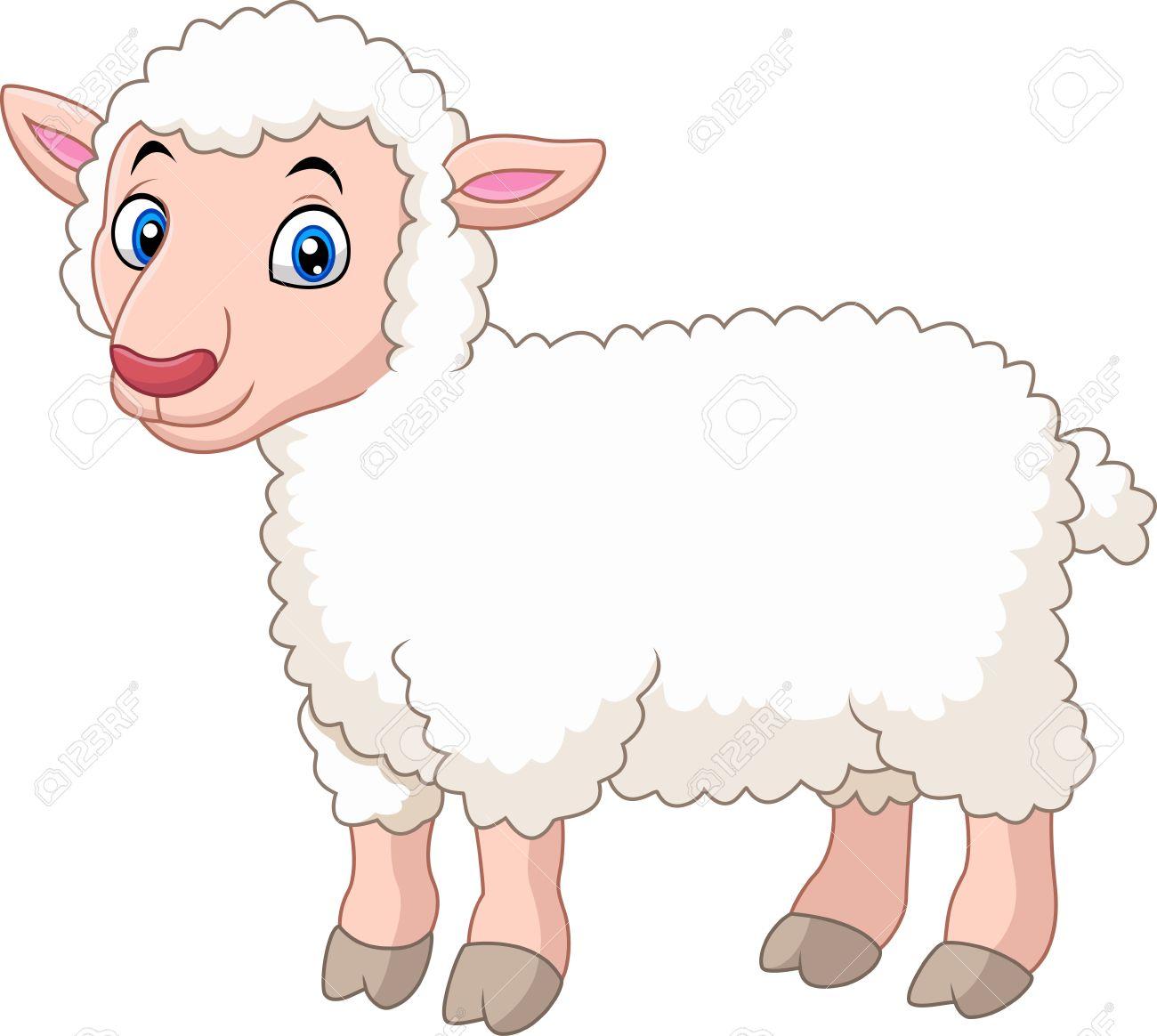 cartoon lamb royalty free cliparts vectors and stock illustration rh 123rf com baby lamb cartoon images lamb cartoon pictures