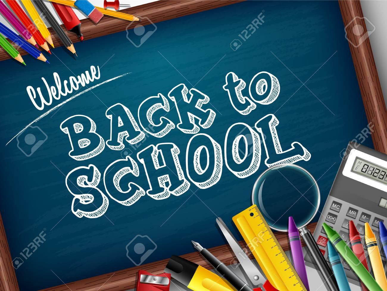 Cartoon school supplies - 100402759