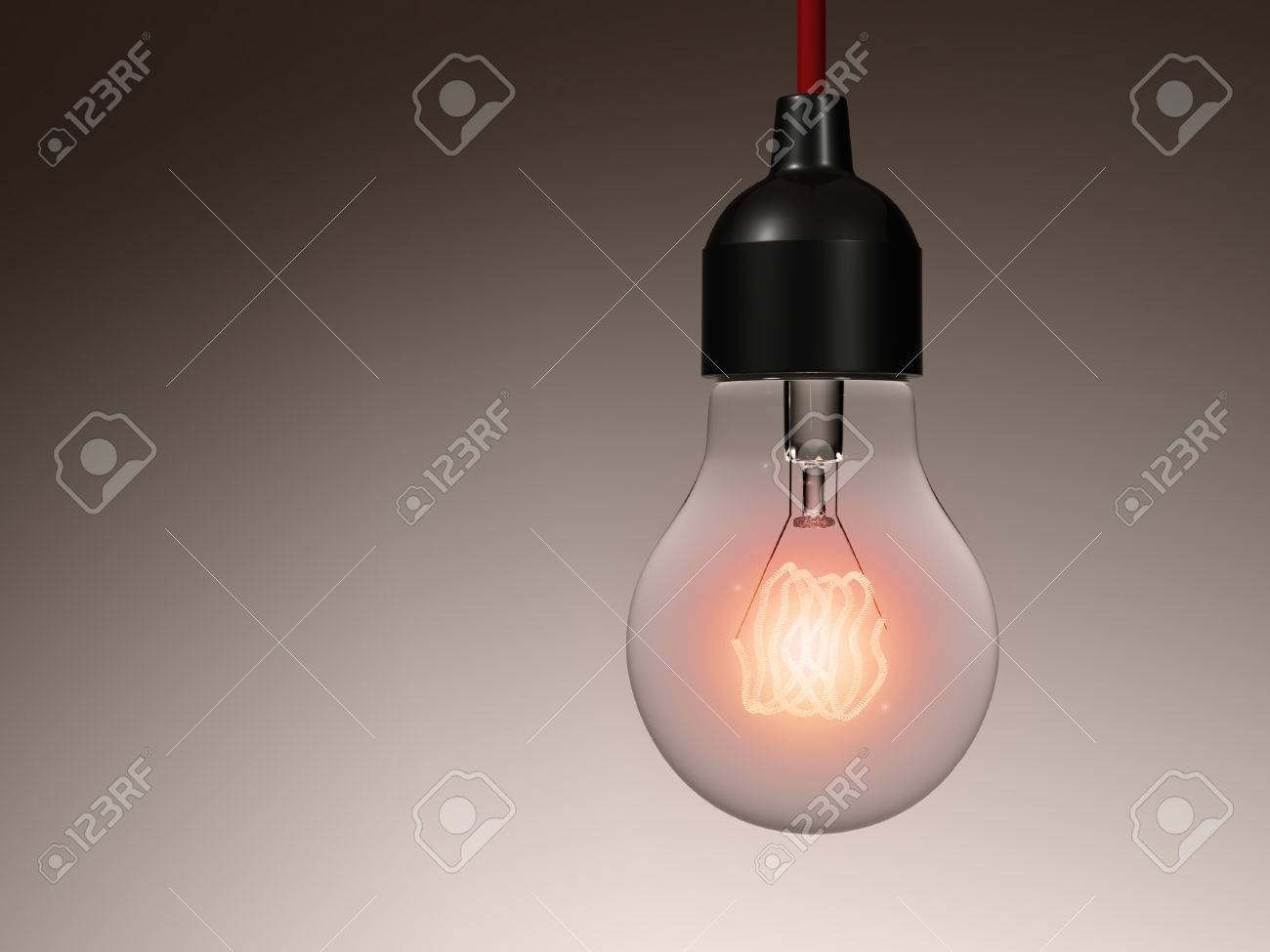 Incandescent light bulb hanging from the ceiling isolated stock incandescent light bulb hanging from the ceiling isolated stock photo 40874411 aloadofball Choice Image