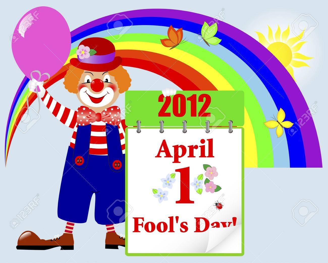 April fools Stock Vector - 12917330