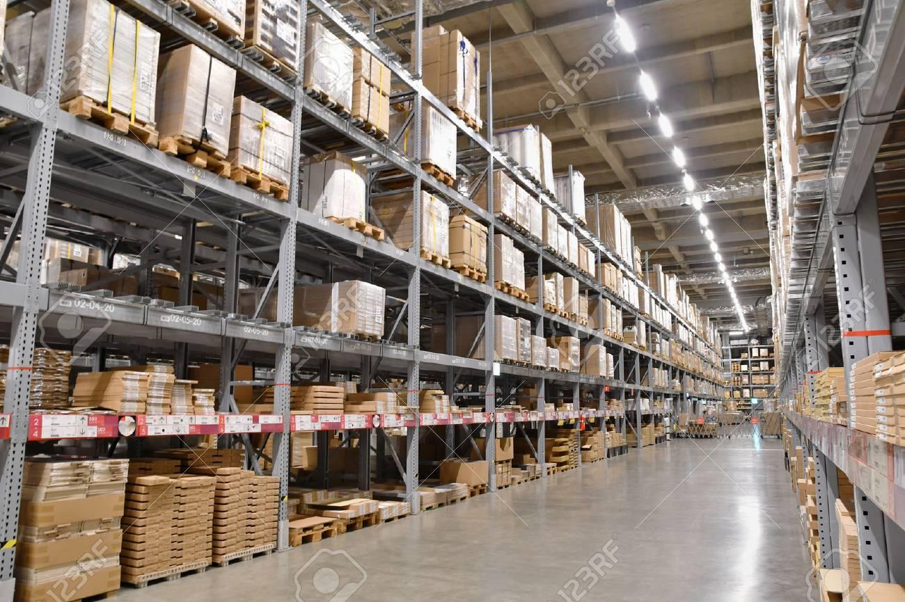 Large-scale logistics warehouse - 74932184