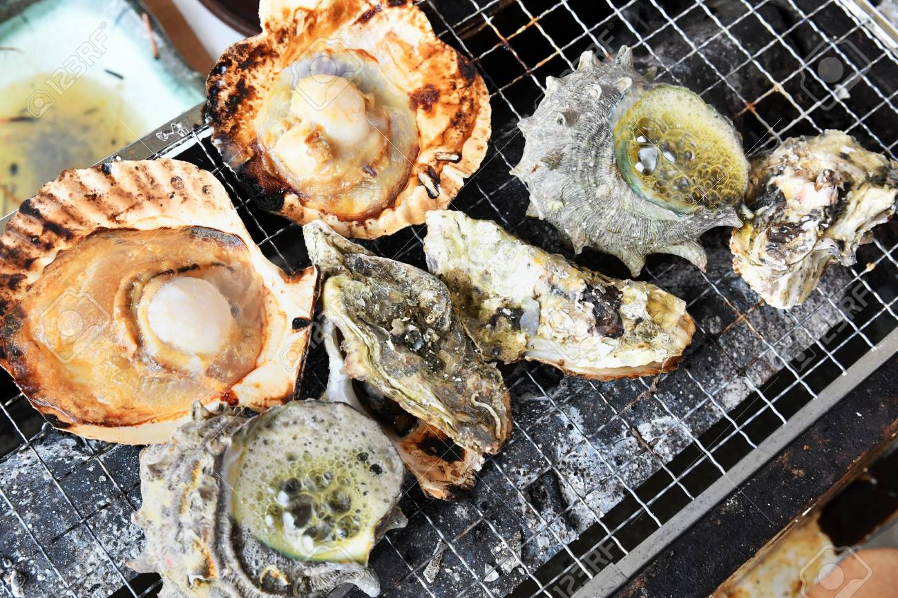 BBQ seafood - 75085555