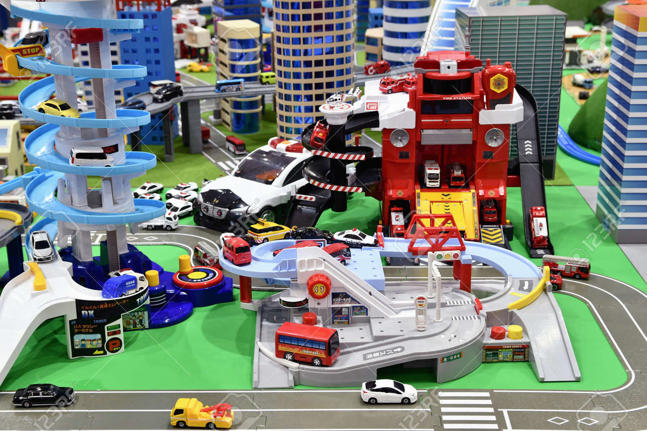 Toy Townscape - 167897025