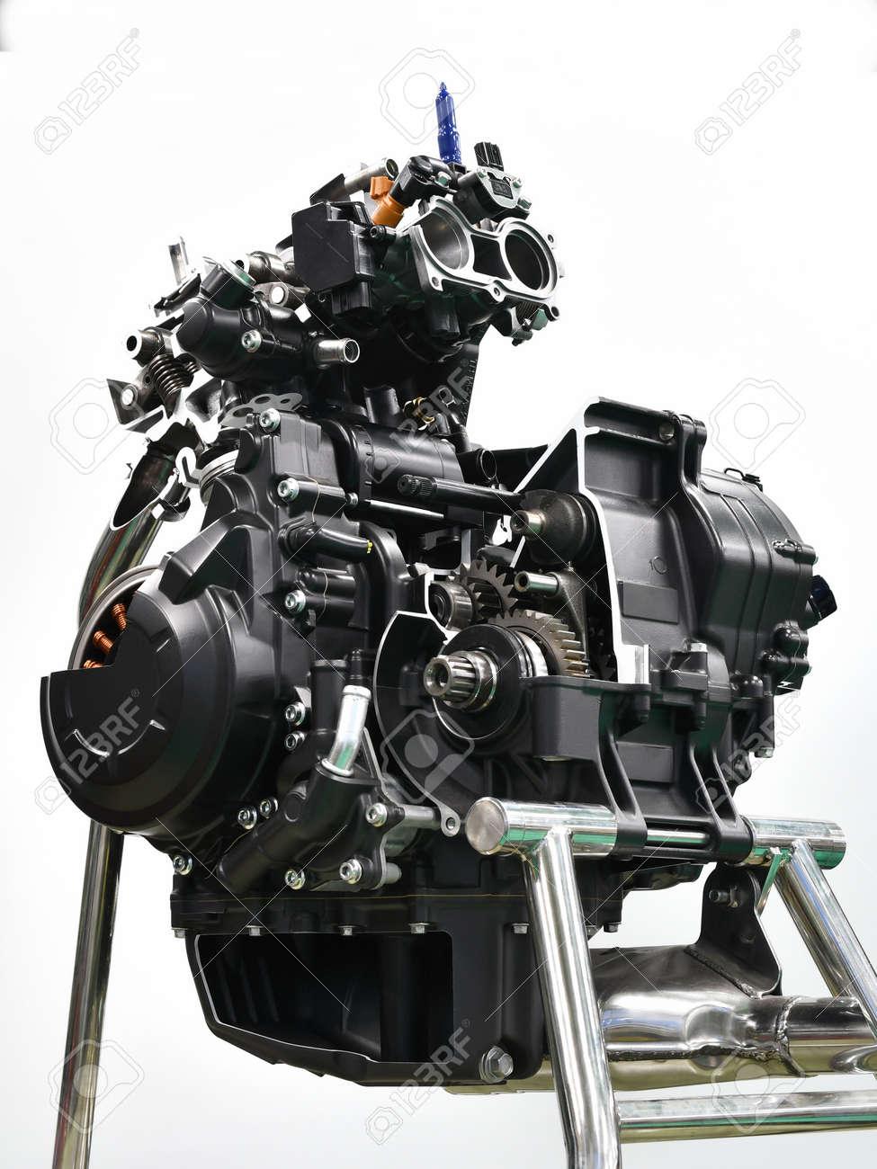 Bike Engine Cut Model - 169410059