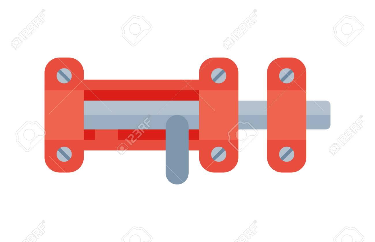 haustürschloss-zugriffsausrüstungsikonenvektorsicherheits-passwort