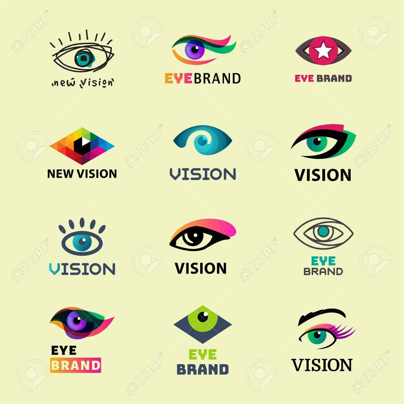 eye blinker business icon daylight glimmer template logotype