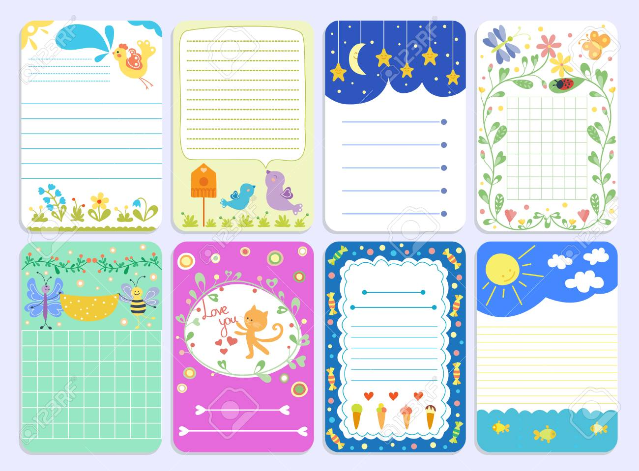 Baby Journal Template from previews.123rf.com
