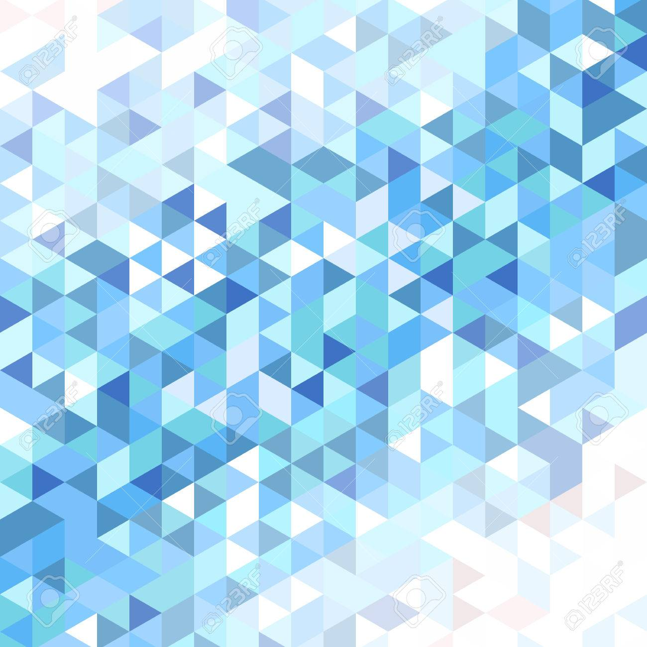 vector background of different color triangles with a gradient