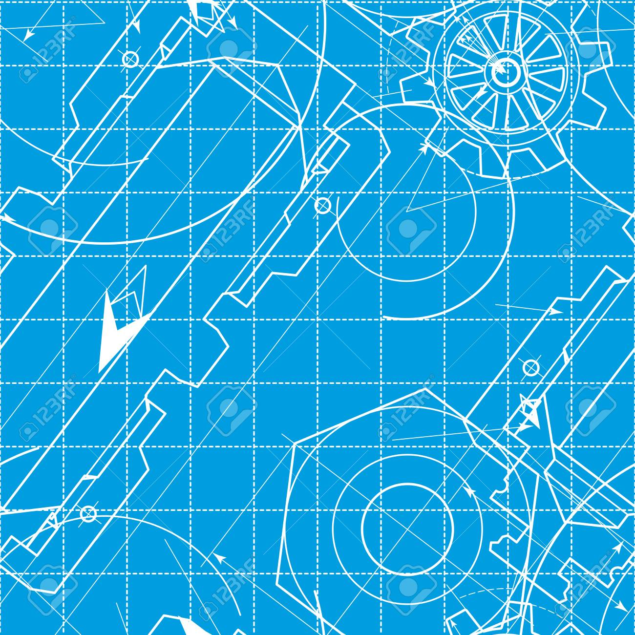 Blueprint pattern with gears stock photo picture and royalty free blueprint pattern with gears stock photo 45327798 malvernweather Choice Image