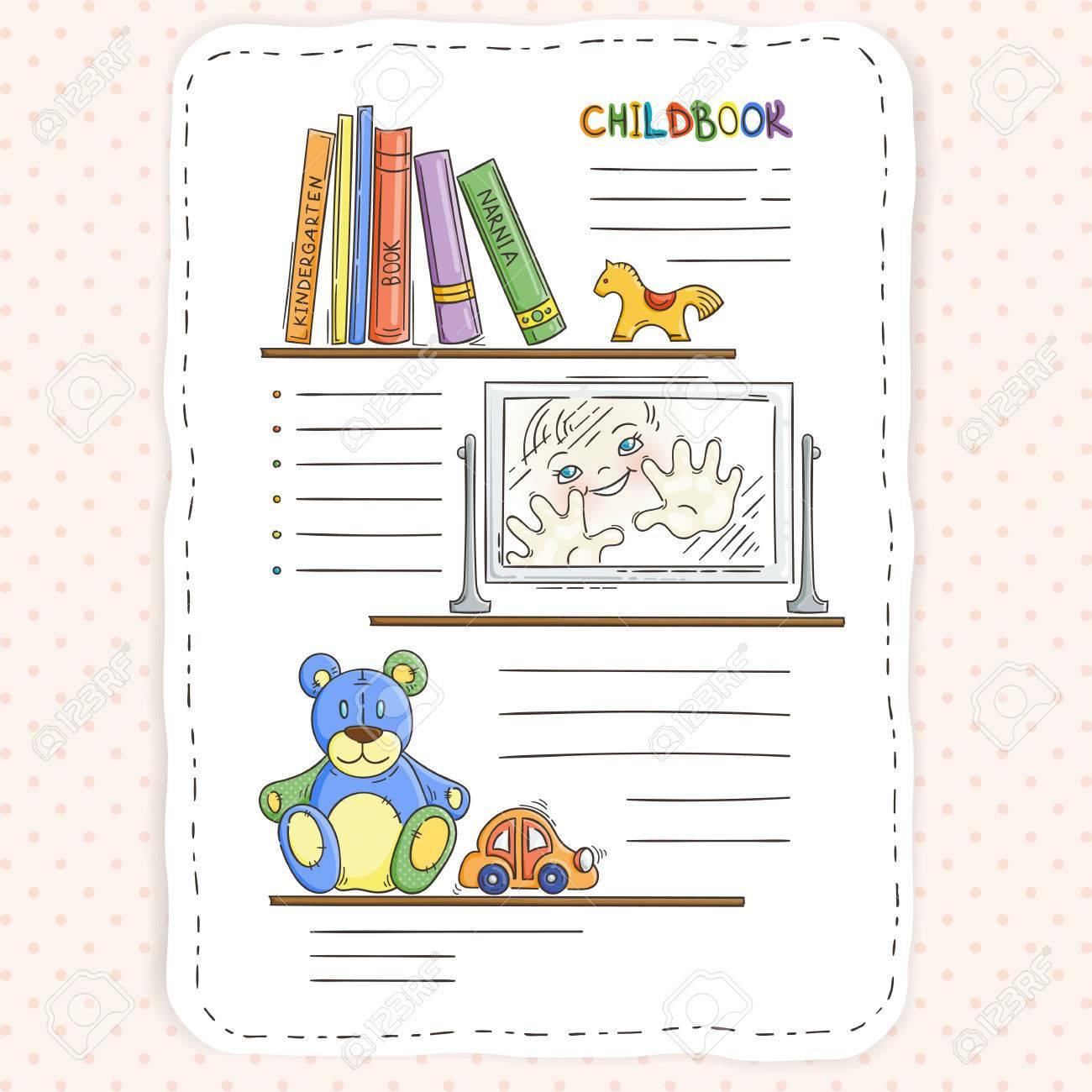 Para Umvpgqsz Los Y Del Vector Niños Página Doodle Niñosestantería MGLqzpUSV