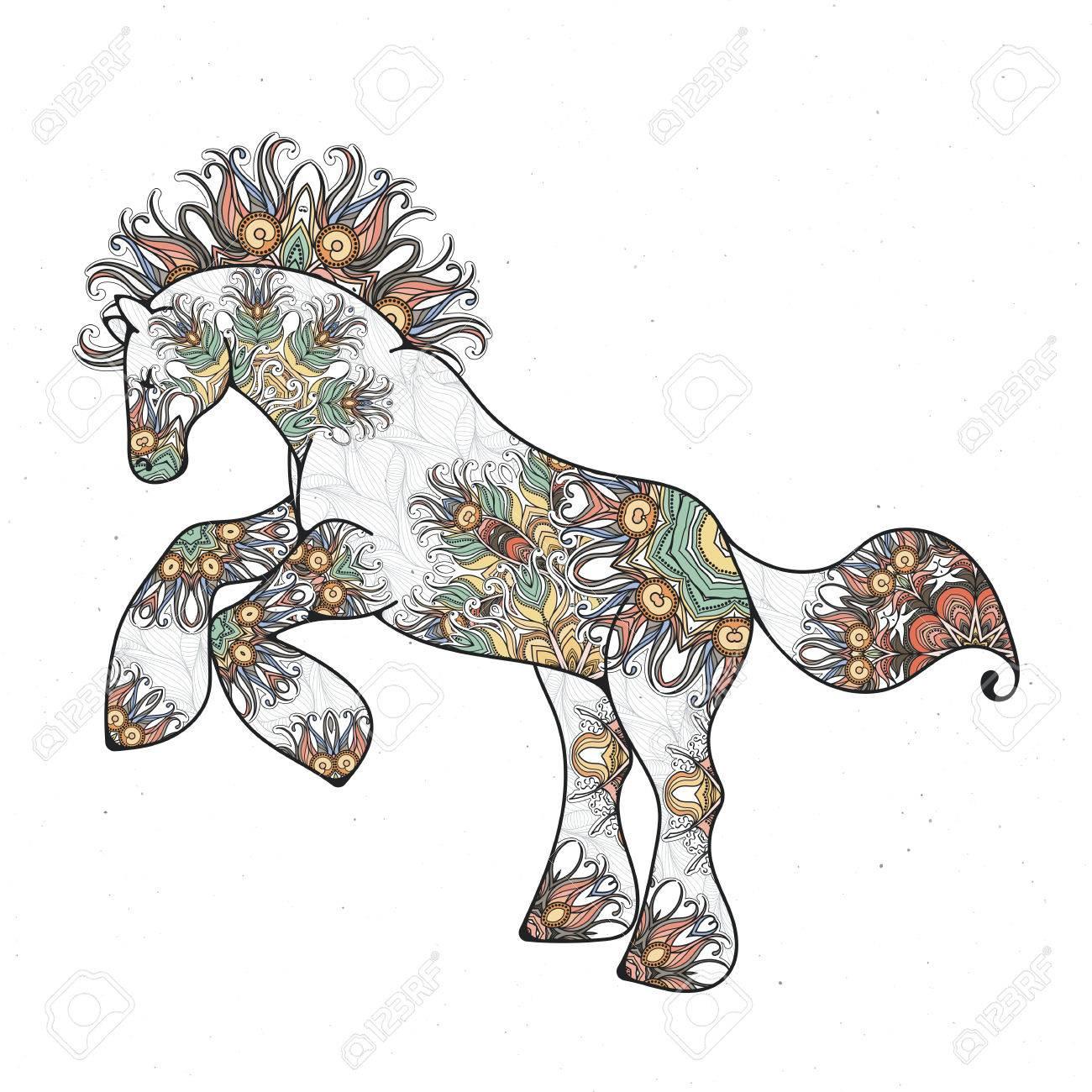 Hermosa Caballo Colorear Páginas Calypso Galería - Dibujos Para ...