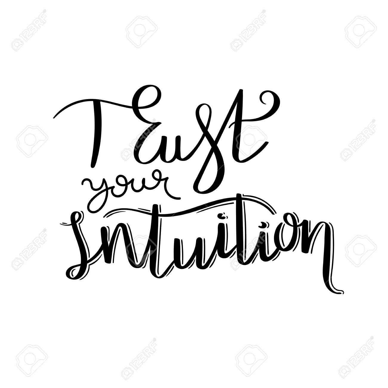 Image result for trust your intuition clipart